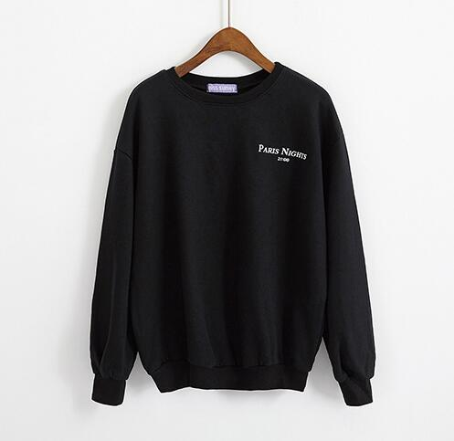 """Paris Nights/ New York Mornings"" Sweatshirt"