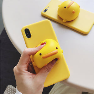 Squishy Duck Case for iPhone