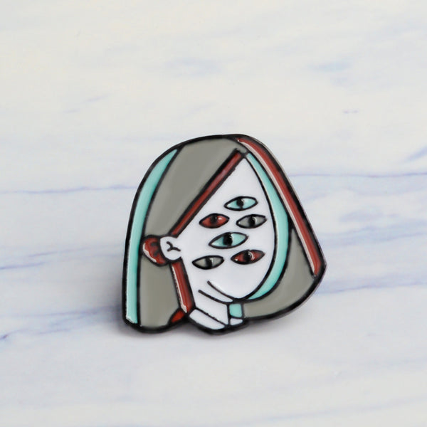 'Point of View' Pin
