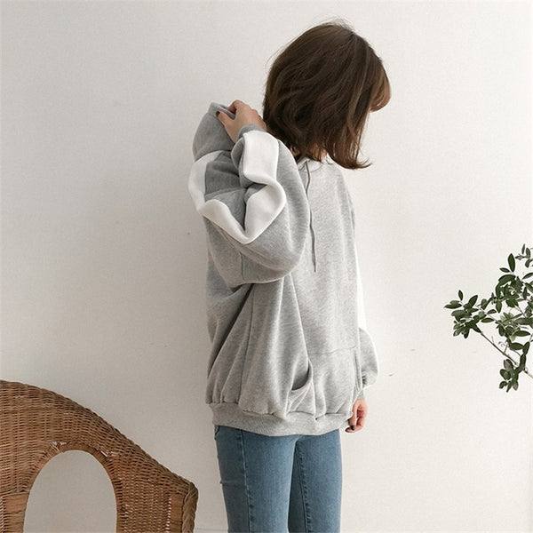 'Clever' Over-Sized Hoodie