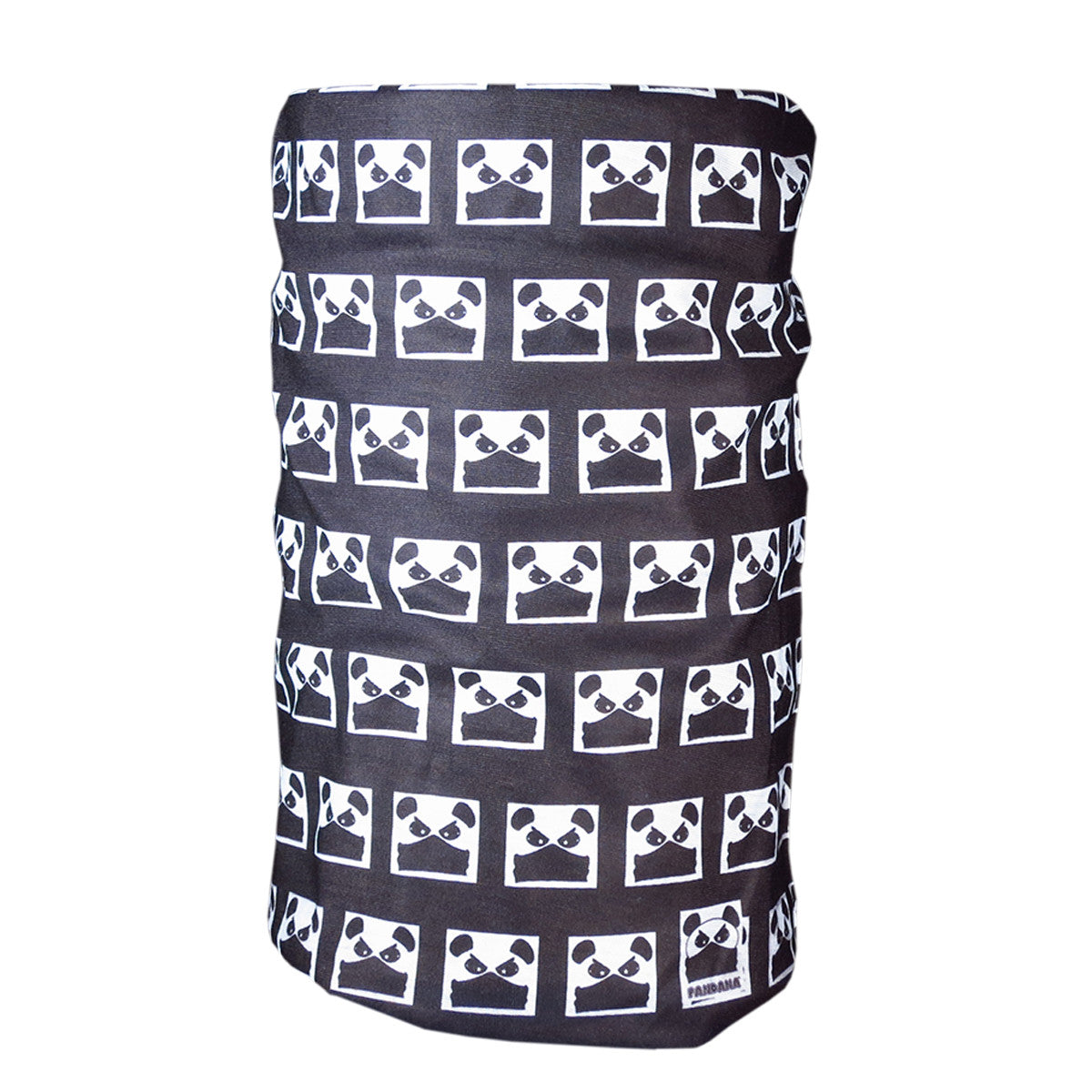 Panda Bear Graphic T-Shirt Hat Neck Gaiter Japanese Manga Style Clothing Pandana Buff