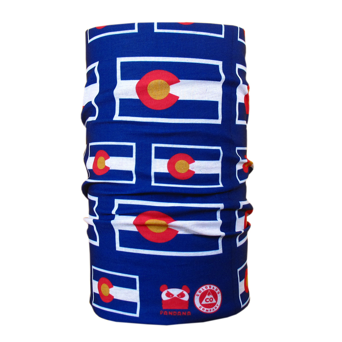 Colorado Flag Seamless Tube Bandana Face Mask