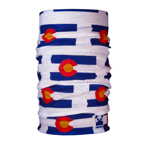 Colorado Flag Headband Pandana Buff Neck Gaiter Neck Tube