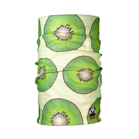 Kiwi Green Seamless Sun Protection Tube Bandana