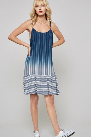 Coastal Striped Dress