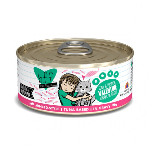 BFF Tuna and Pumpkin Valentine Canned Grain-Free Cat Food