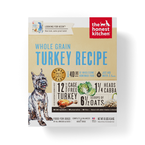 Whole Grain Turkey Recipe Dehydrated Dog Food
