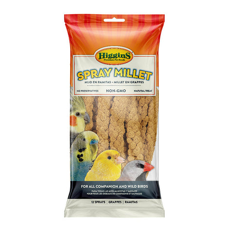Spray Millet Natural Bird Treat