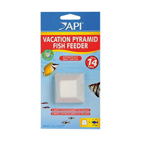 14-Day Vacation Pyramid Fish Food Feeder