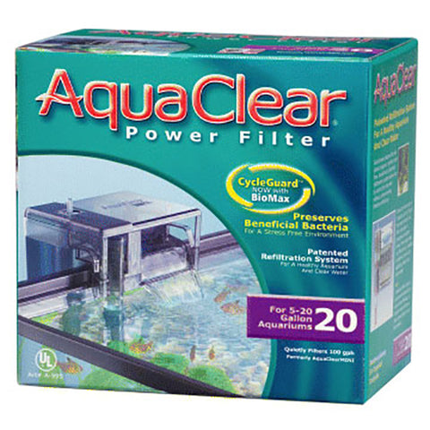 20 Aquarium Multi-Stage Power Filter