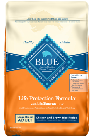 Life Protection Large Breed Adult Chicken and Brown Rice Recipe Dry Dog Food