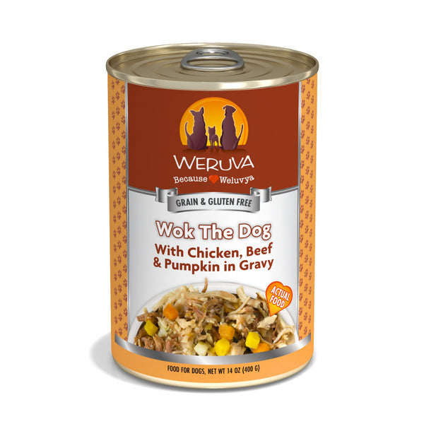 Wok The Dog Canned Grain-Free Dog Food