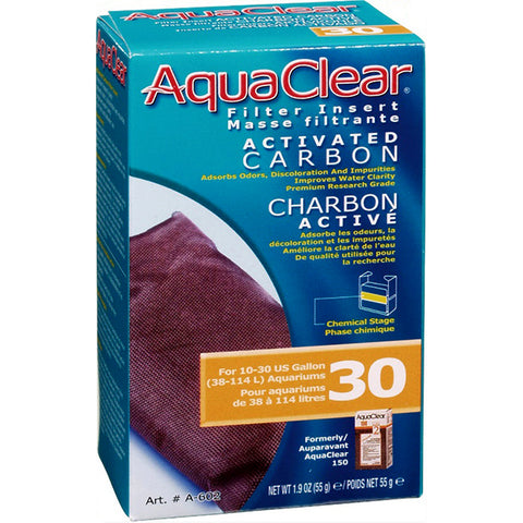 Activated Carbon Filter Insert for AquaClear 30 Power Filter