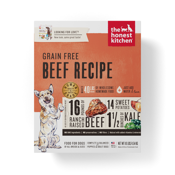 LOVE Grain-Free Beef All Life Stages Dog Food