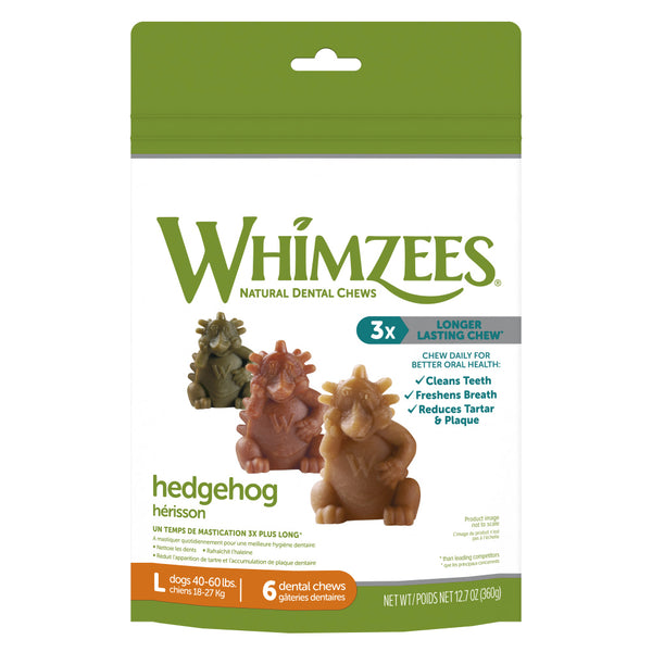 Hedgehog Dental Chew Grain-Free Dog Treats