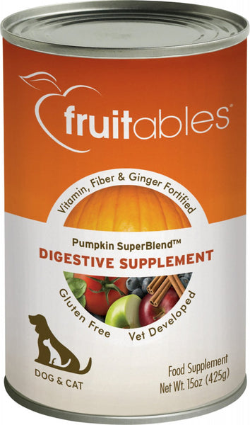Pumpkin Digestive Canned Supplement for Dogs and Cats