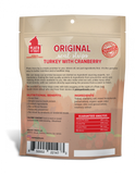 Plato Grain Free Real Strips Turkey With Cranberry Dog Treats
