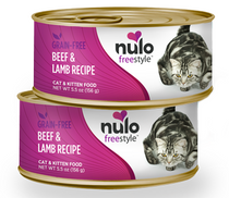 FreeStyle Grain-Free Cat and Kitten Beef and Lamb Recipe Canned Cat Food