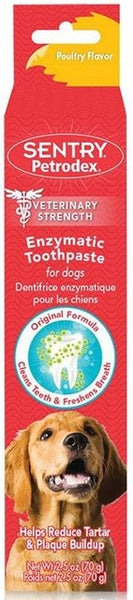 Petrodex Veterinary Strength Enzymatic Poultry Flavor Dog Toothpaste