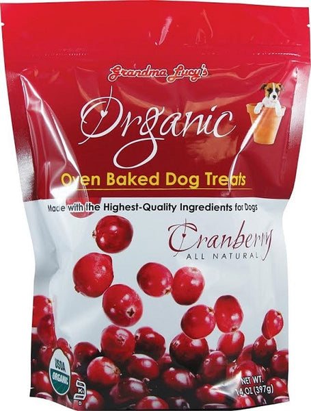 Organic Oven Baked Cranberry Flavor Dog Treats