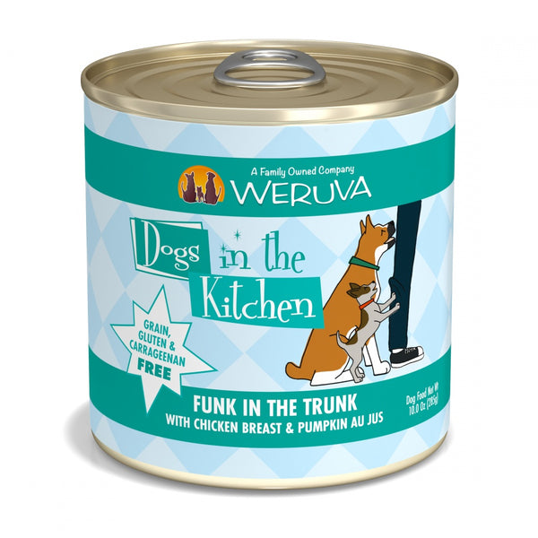 Dogs in the Kitchen Funk in the Trunk Grain-Free Chicken and Pumpkin Canned Dog Food