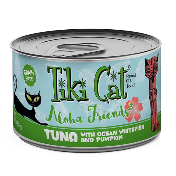 Aloha Friends Grain-Free Tuna with Ocean Whitefish and Pumpkin Canned Cat Food
