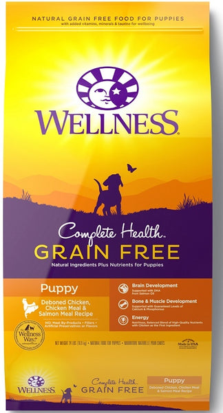 Complete Health Grain-Free Puppy Deboned Chicken, Chicken Meal and Salmon Meal Recipe Dry Dog Food