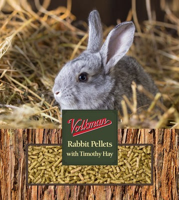 Vitamin Enriched Rabbit Food Pellets with Timothy Hay