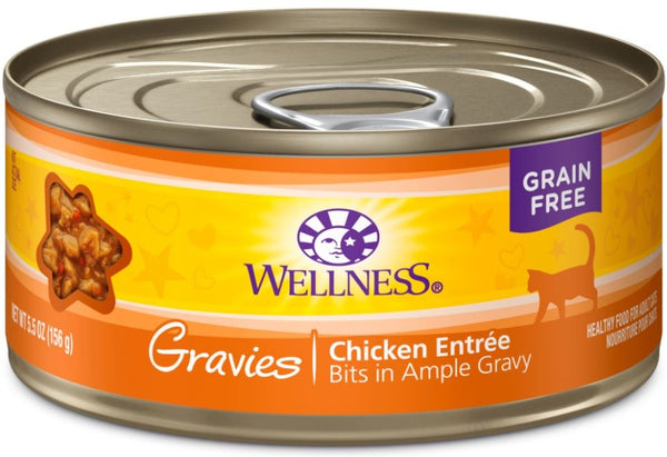 Gravies Natural Grain-Free Chicken Dinner Canned Cat Food