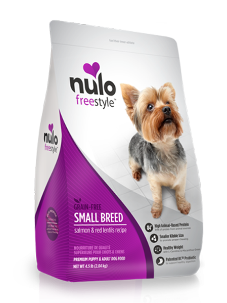 FreeStyle Grain-Free Small Breed Salmon and Red Lentil Dry Dog Food