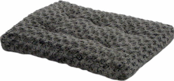 Quiet Time Ombre Swirl Grey Dog and Cat Bed