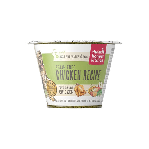 The Honest Kitchen Grain Free Chicken Recipe Dehydrated Dog Food Cups