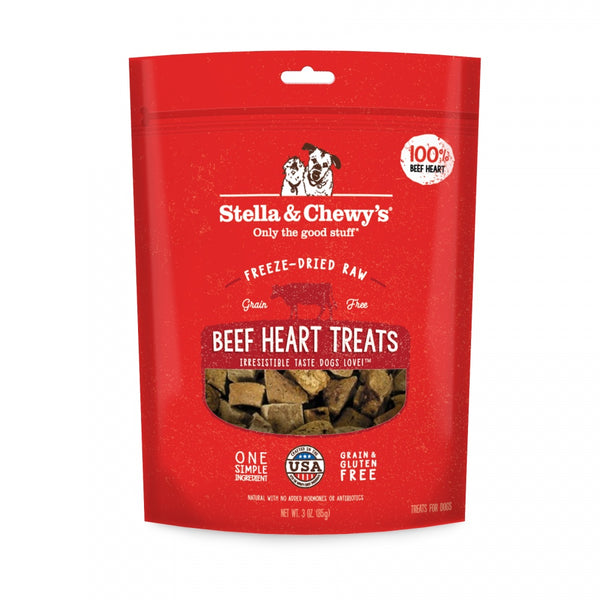 Freeze-Dried Raw Beef Heart Dog Treats