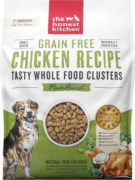Grain-Free Chicken Recipe Whole Food Clusters Dry Dog Food