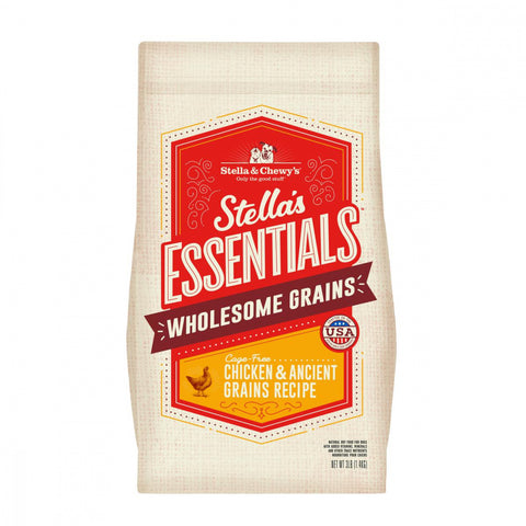 Stella & Chewy's Stella's Essentials Kibble Cage Free Chicken & Wholesome Grains Recipe Dry Dog Food