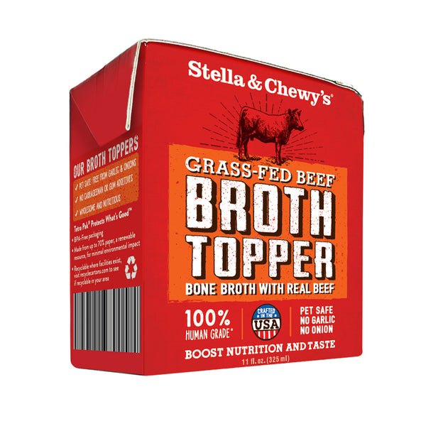 Grass Fed Beef Broth Food Topper for Dogs