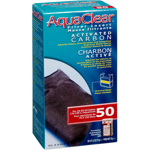 Activated Carbon Filter Insert for AquaClear 50 Power Filter