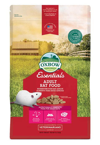 Essentials Regal Rat Adult Rat Food Pellets