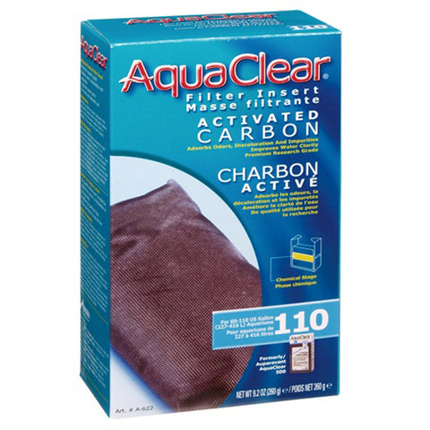 Activated Carbon Filter Insert for AquaClear 110 Power Filter