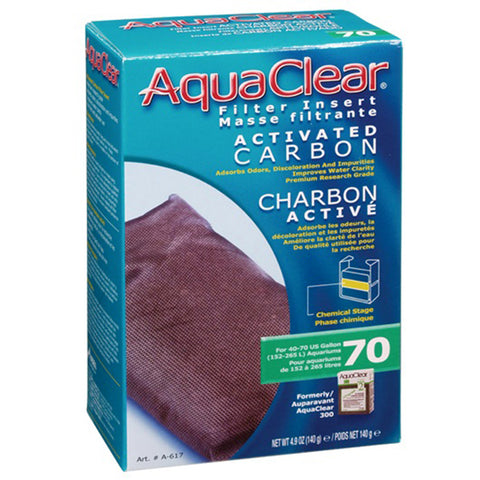 Activated Carbon Filter Insert for AquaClear 70 Power Filter