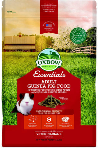 Essentials Cavy Cuisine Adult Guinea Pig Food Pellets