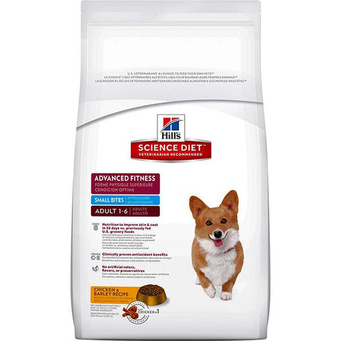 Advanced Fitness Small Bites Adult Dry Dog Food