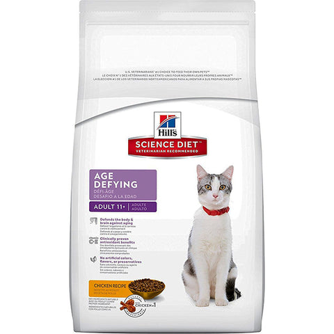 Adult 11+ Age Defying Senior Dry Cat Food