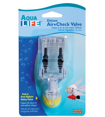 Aqua Life Deluxe Air + Check Valve for Aquariums
