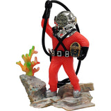 Action Air Jewel Box Collection Treasure Diver Aquarium Decoration with Underwater Movement