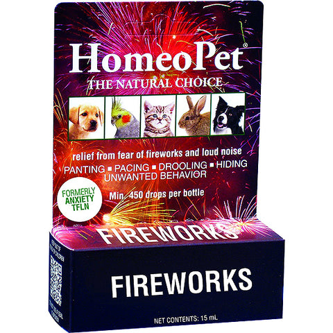 Anxiety Relief TFLN Fireworks Formula Natural Liquid Drops for All Animals