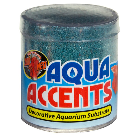 Aqua Accents Decorative Aquarium Substrate Pebbles Teal