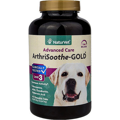 Advanced Care ArthriSoothe-GOLD Level 3 Hip & Joint Dog & Cat Supplement Tablets