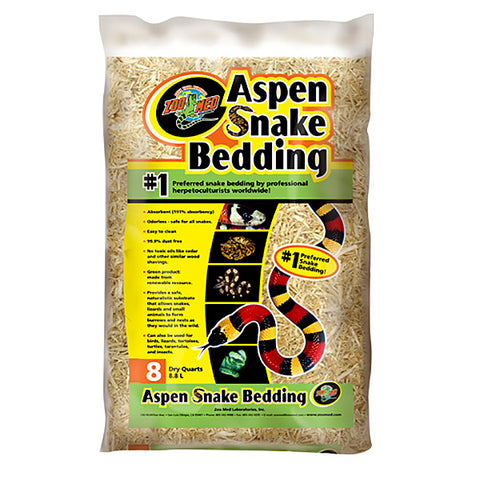 Aspen Snake Bedding Reptile & Small Animal Wood Substrate