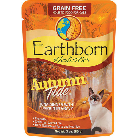 Autumn Tide Tuna Dinner with Pumpkin in Gravy Grain-Free Wet Pouch Cat Food